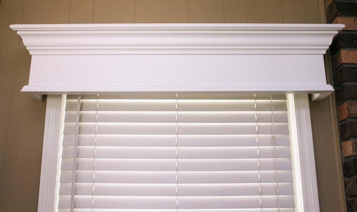 25+ best ideas about Wood window valances on Pinterest