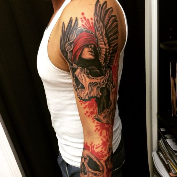1000 ideas angel demon tattoo