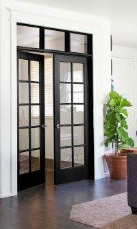25+ best ideas about Black French Doors on Pinterest