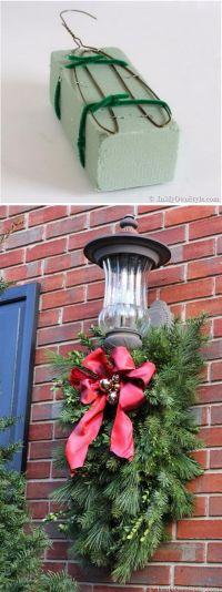 25+ best ideas about Outdoor Wreaths on Pinterest   Diy ...