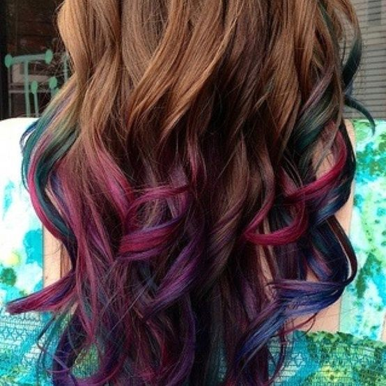 86 Best Images About Hairstyle On Pinterest Blue Hair Purple