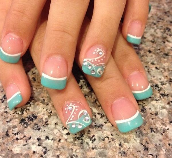 25 best ideas about French manicure designs on Pinterest