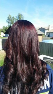 fall hair called color