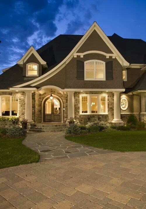 38 Best Images About Exterior On Pinterest Log Cabin