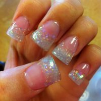 111 best images about Glitter acrylic nail tips on ...