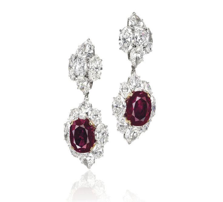 Magnificent Jewels auction Christie's Bulgari earrings