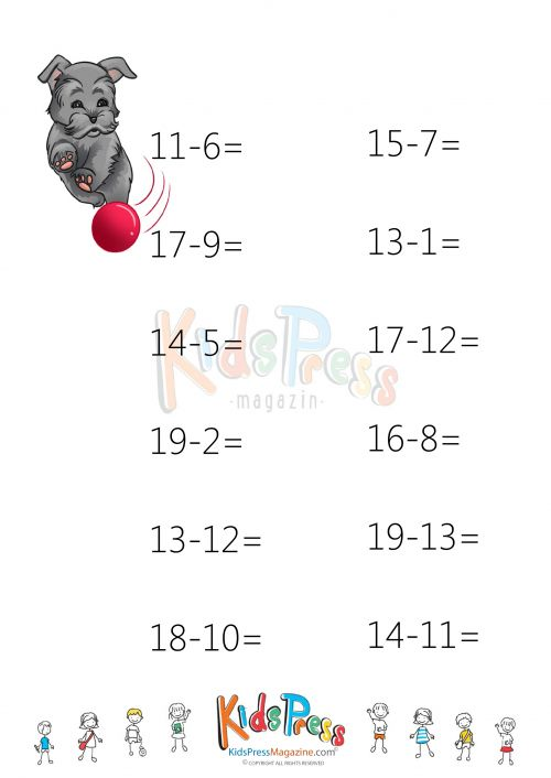 59 best images about Subtraction Practice Worksheets on