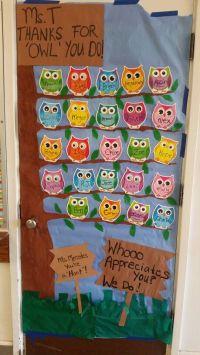 17 Best ideas about Owl Door Decorations on Pinterest ...