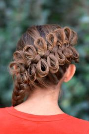 bow braid ideas