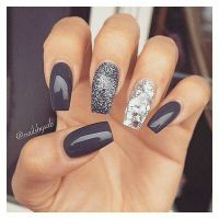 1000+ ideas about Dark Nail Designs on Pinterest