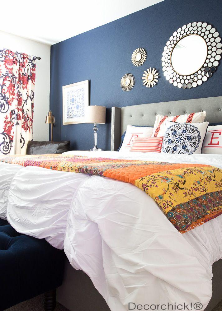 Best 25 Blue orange bedrooms ideas only on Pinterest