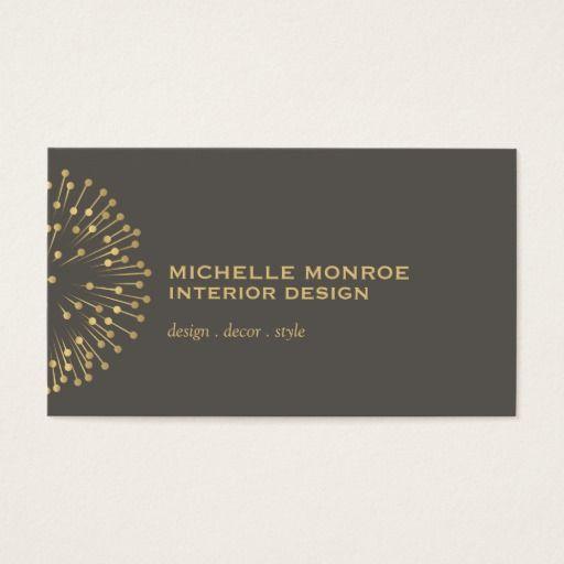 Interior Designer Business Cards 10 handpicked ideas to discover in Design  Black business