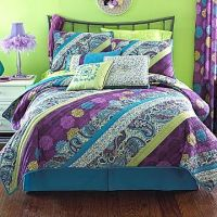 17 Best images about purple and lime green bedrooms on ...