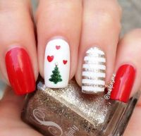 25+ best ideas about Christmas Nails on Pinterest ...