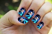 disney nails kids 2015 cool
