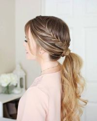 10+ best ideas about Wedding Ponytail on Pinterest
