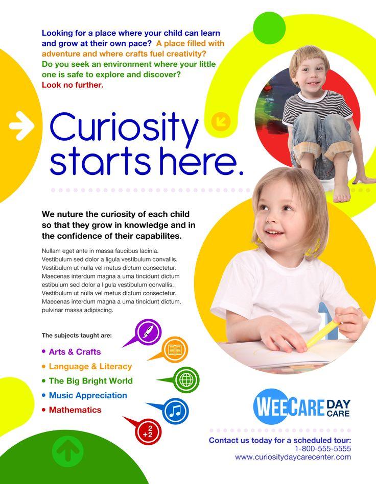 MARKETING Day Care  Marketing  Communications  Design