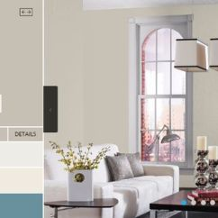 Grey And White Living Room Paint Ideas Classic Design Sherwin Williams - Skyline Steel | Color ...
