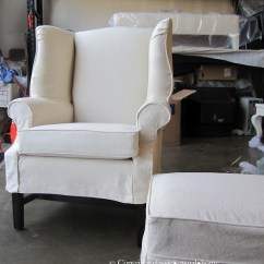 Custom Made Slipcovers For Sofas Canada Crate And Barrel Davis Sofa Review Wingback Chairs. Elegant Recliners ...