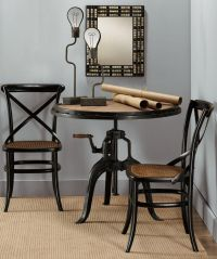 Round Black Wood Dining Table. Awesome Inch Round Dining ...