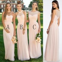 25+ best ideas about Blush Bridesmaid Dresses on Pinterest ...
