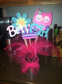 Owl baby shower centerpiece | Party Ideas | Pinterest ...