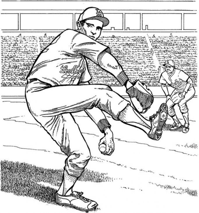 73 best images about Sports Coloring Pages on Pinterest