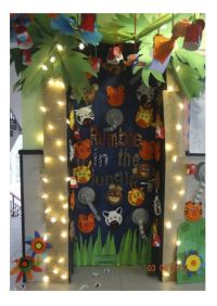 Classroom Door Display: Rumble in the Jungle | Love the ...