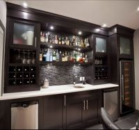 10+ best ideas about Basement Bars on Pinterest