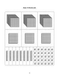 base ten block templates | Base-10 blocks-thousands ...