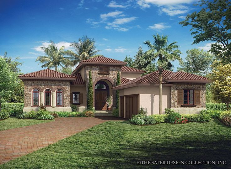 MediterraneanModern House Plan with 3648 Square Feet and