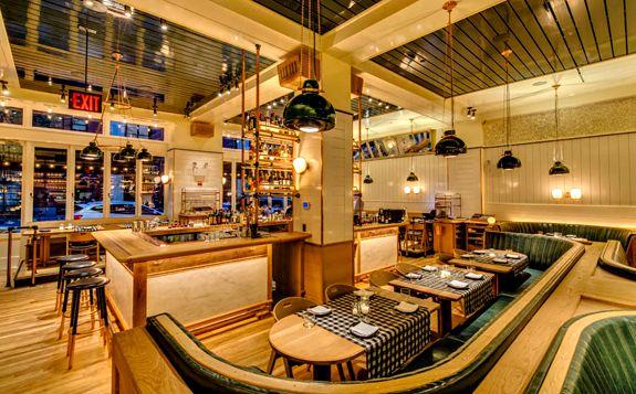 kitchen banquettes sink 33 x 22 upland flatiron district 10.2014 | restaurants to try in ...