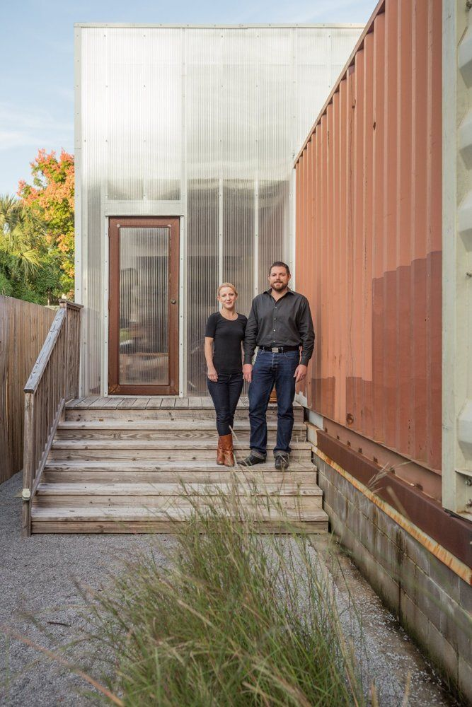 Seth  Elisabeths Shipping Container Home in New Orleans