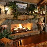 Best 25+ Country fireplace ideas on Pinterest | Rustic ...