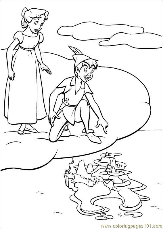 25+ best ideas about Peter Pan Coloring Pages on Pinterest