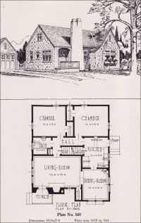 1926 Portland Homes - Universal Plan Services - No. 568 ...