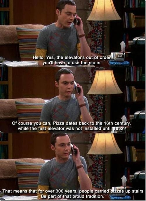 Sheldon!!! You are just the best!