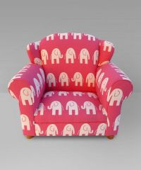 Pink Elephant Wingback Chair by Funky Kids by Mauricio's ...