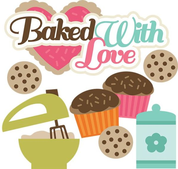 baked with love - svg cutting files