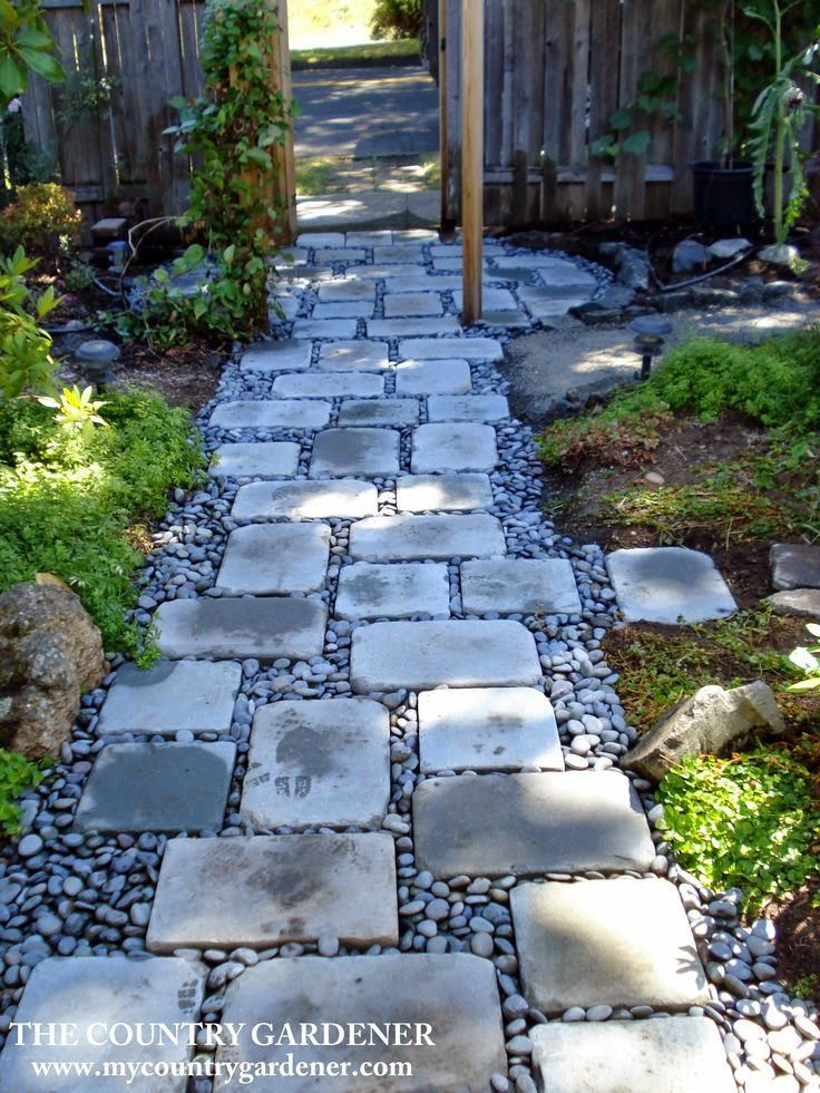 The 25 Best Ideas About River Rock Landscaping On Pinterest
