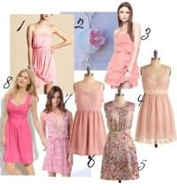 cherry blossom bridesmaid dresses | Cherry Blossom ideas ...