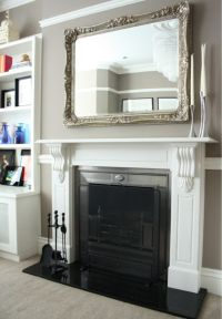 25+ best ideas about Mirror above fireplace on Pinterest ...