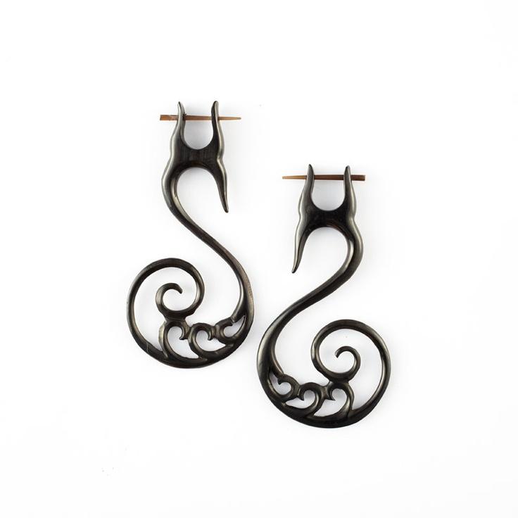 Top 30 ideas about Gauged earrings on Pinterest