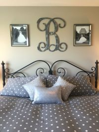 25+ best ideas about Above Bed Decor on Pinterest | Grey ...
