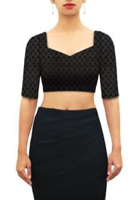 1000+ images about Sweetheart neck blouses - Design ...