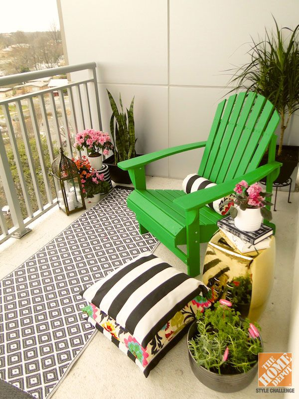 Small Patio Decorating Ideas by Mandy from Fabric Paper