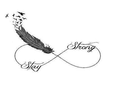 17 Best ideas about Stay Strong Tattoos on Pinterest