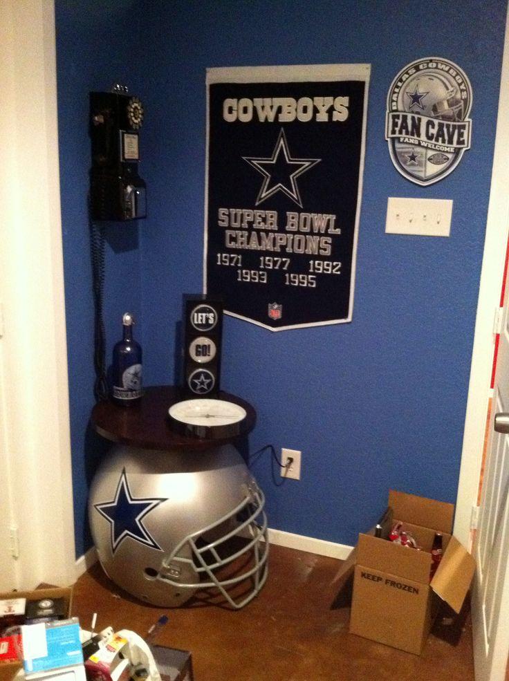 Dallas Cowboys Game Room Decor  Game room  Pinterest