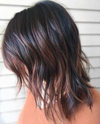 25+ best ideas about Dark hair with highlights on