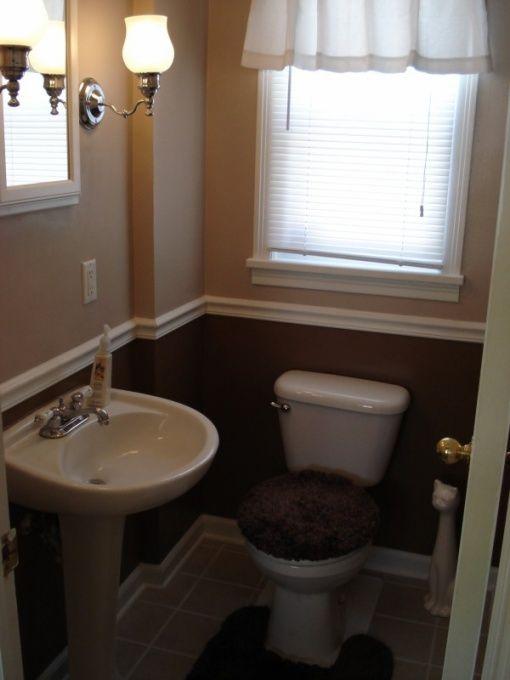 25 best ideas about Small half bathrooms on Pinterest